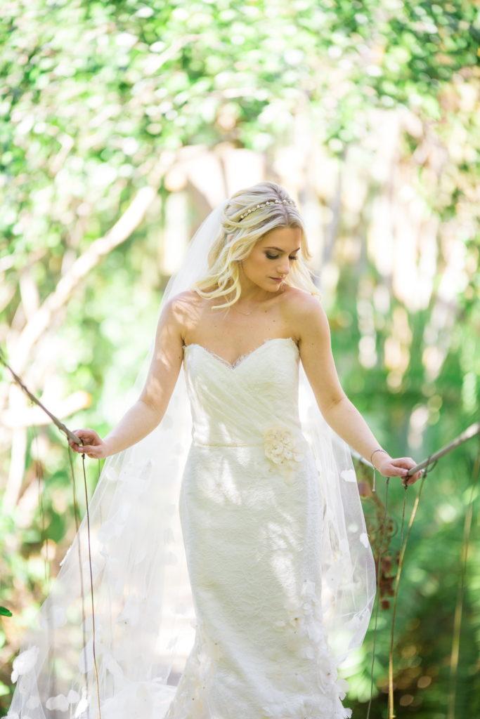 Ada K Beauty Naples Bridal Hair Loose Waves
