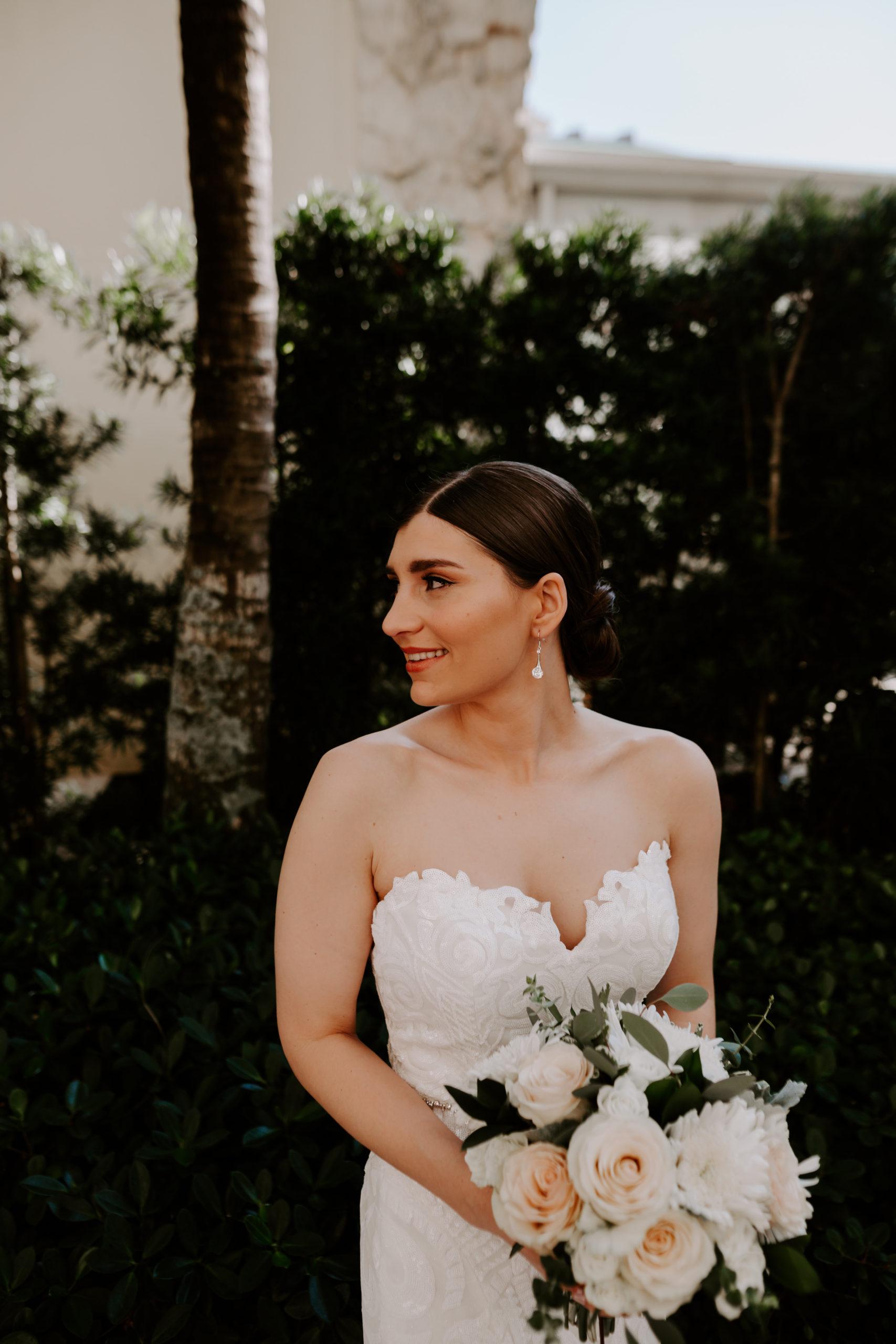 Ada K Beauty Naples Bridal Hair Sleek Updo