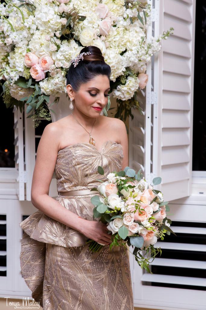 Ada K Beauty Naples Bridal Updo Crystal Pin